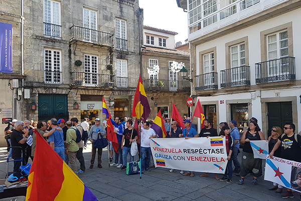 Santiago De Compostela Demostr Solidaridad Con La Revoluci N Bolivariana Ministerio Del Poder