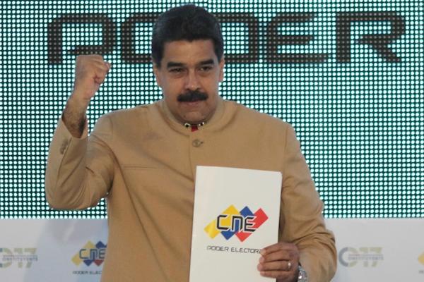 Presidente Maduro CNE