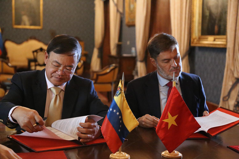 Venezuela Y Vietnam Firman Acuerdos Agrarios Ministerio Del Poder Popular Para Relaciones