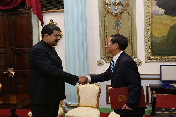 Embajador De China Entreg Cartas Credenciales Ante Gobierno Bolivariano Ministerio Del Poder