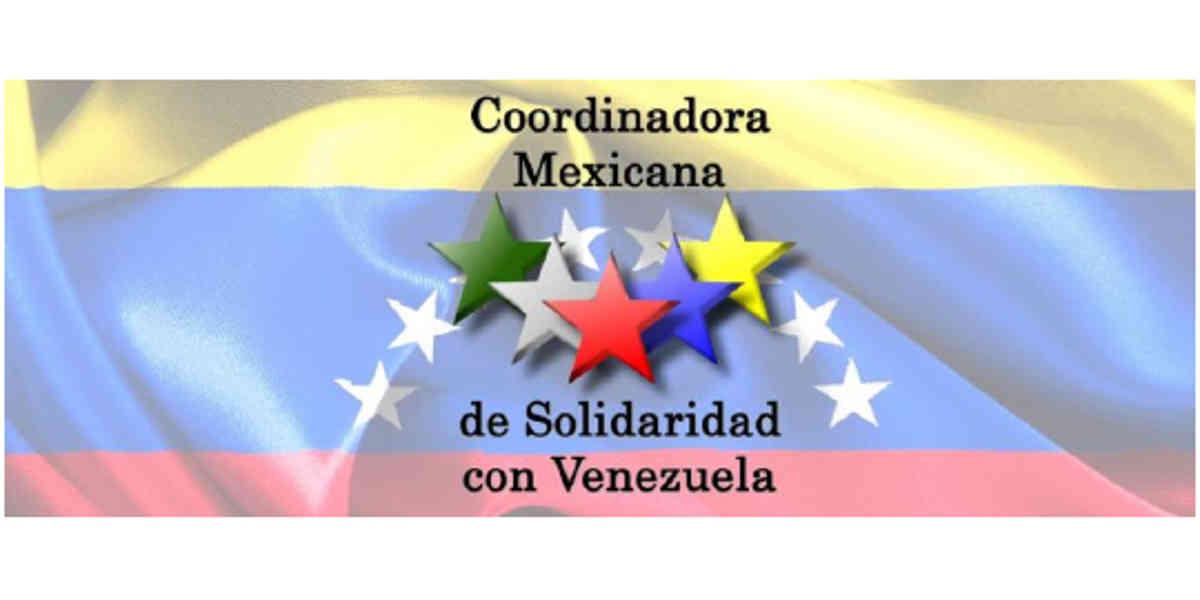 Resultado de imagen para La Coordinadora Mexicana de Solidaridad con Venezuela