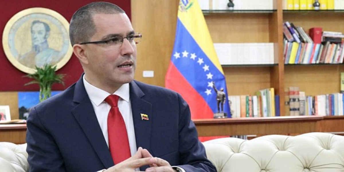 Canciller Jorge Arreaza Entrevista