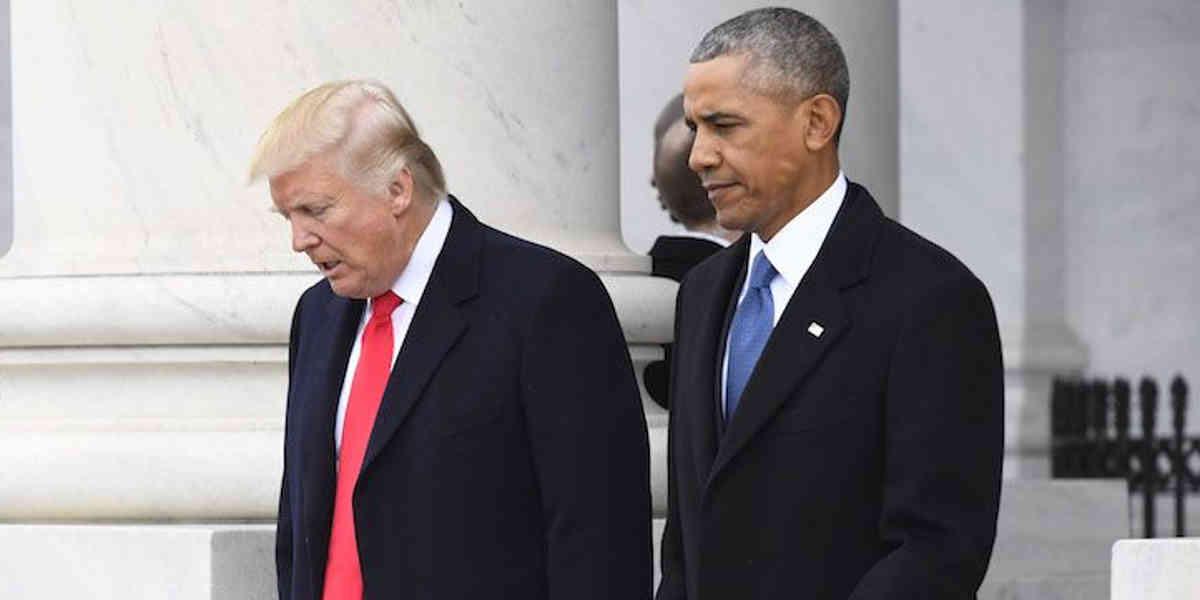Trump Obama Sanciones