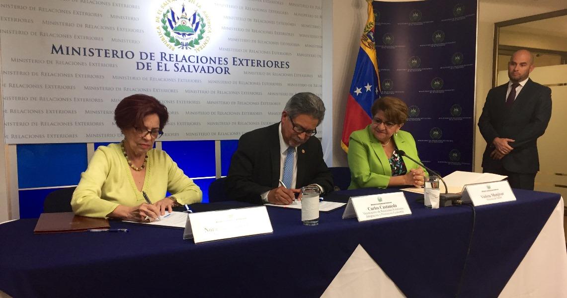 El Salvador Y Venezuela Acuerdan Reactivacion De La Mision Milagro