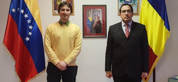 Asociación Rumanía Trabajadora estrecha lazos de amistad con el pueblo venezolano
