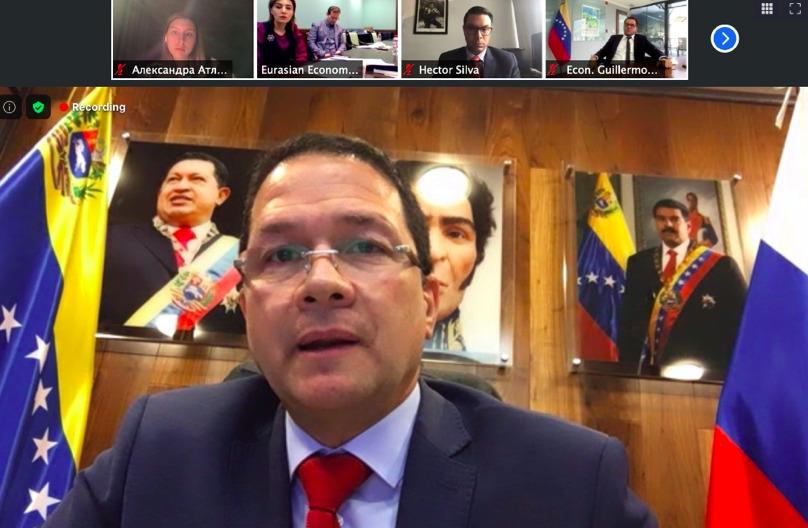 Venezuela expone propuestas y oportunidades comerciales en videoconferencia con Unión Económica Euroasiática