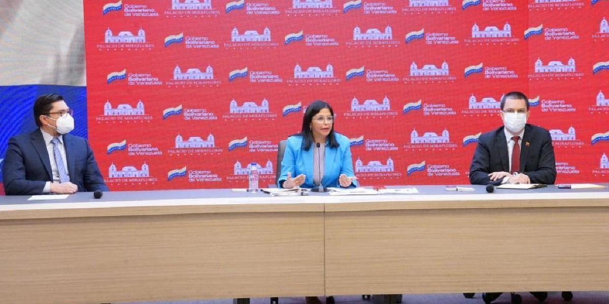 Vicepresidenta Delcy Rodríguez: Nosotros no necesitamos limosnas, Venezuela tiene su patrimonio