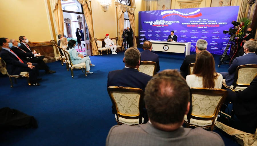 Venezuela firma acuerdos con Rusia en sectores estratégicos