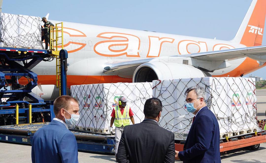 Llega a Venezuela cargamento de 877.098 viales de insulina como parte de los acuerdos en materia de salud con la compañía rusa Geropharm