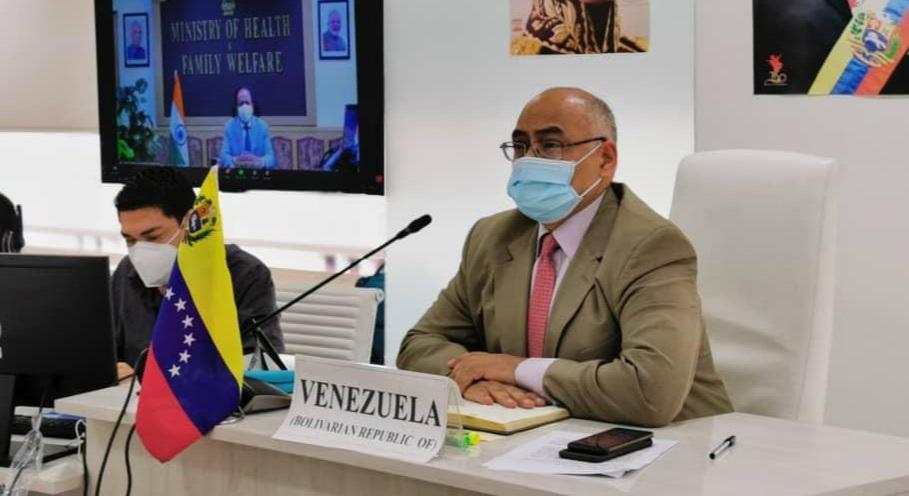Venezuela aboga por el multilateralismo para enfrentar la pandemia durante reunión de ministros de Salud del Mnoal