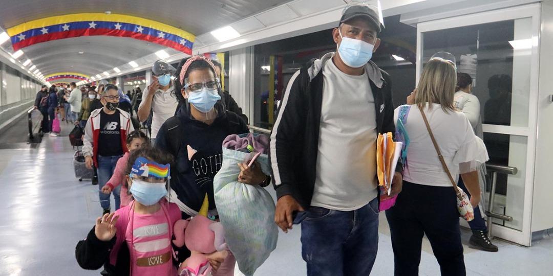 Retornan desde Perú 278 venezolanos por medio del Plan Vuelta a la Patria