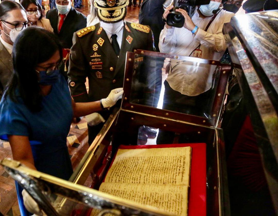 ¡Día Patrio! Vicepresidenta Delcy Rodríguez encabeza ceremonia de apertura del Acta del Supremo Congreso de Venezuela