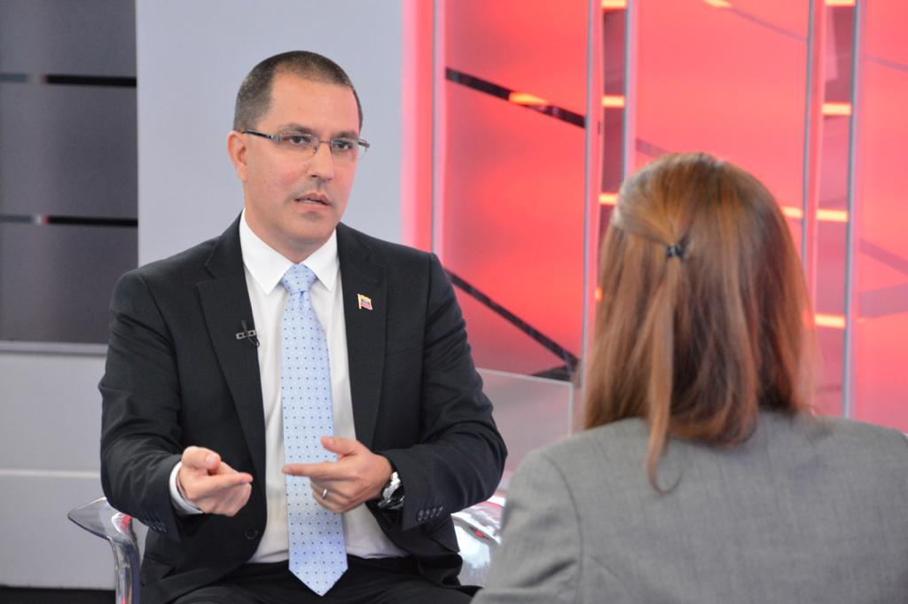Canciller Arreaza en Telesur: Apuesta de Venezuela es por el diálogo y la integración