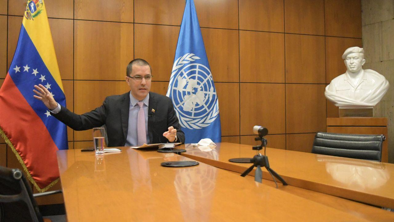Canciller Arreaza propone diseño de mecanismo que permita la independencia financiera de la ONU