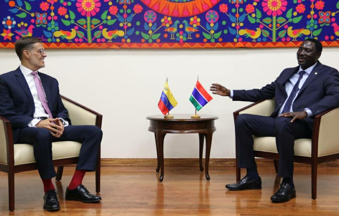 Venezuela y Gambia refuerzan relaciones bilaterales