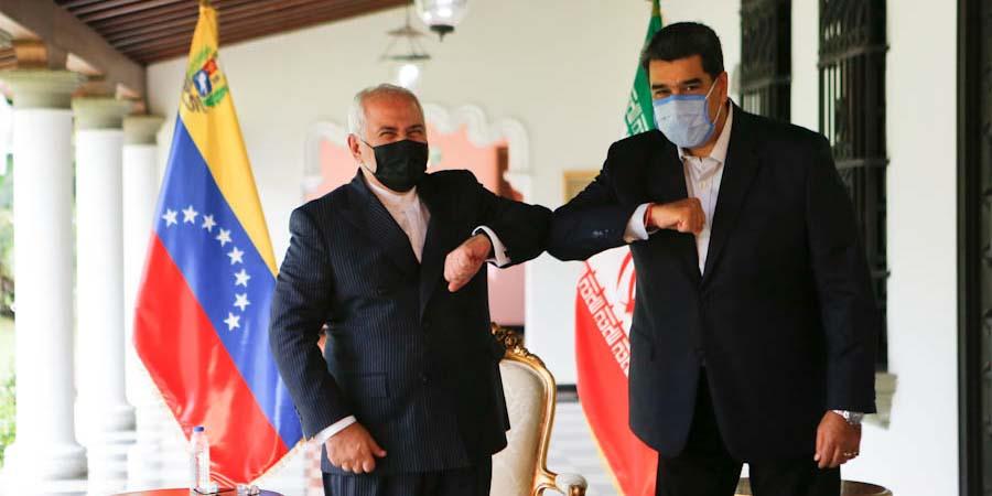 Presidente Maduro y canciller Zarif sostienen encuentro en Caracas