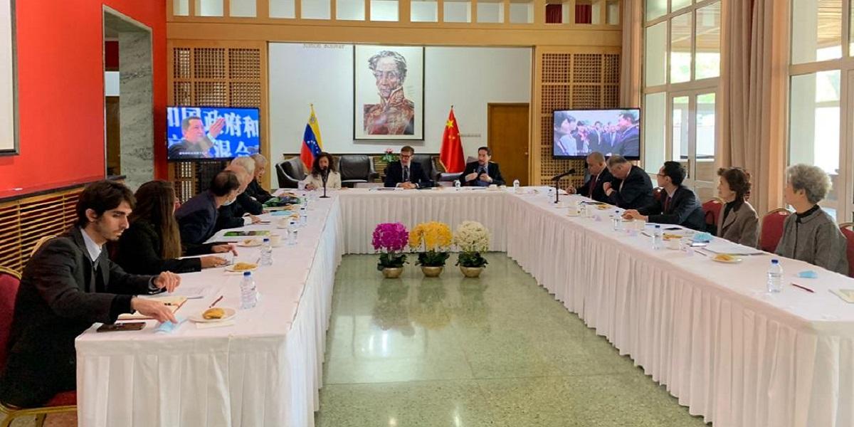 Lucha Bolivariana fue debatida por la Red de Intelectuales de China