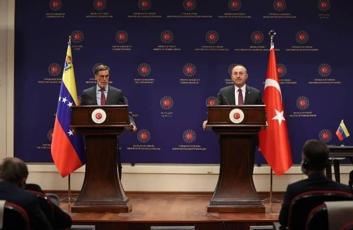 Venezuela y Turquía reafirman sus relaciones de amistad y cooperación