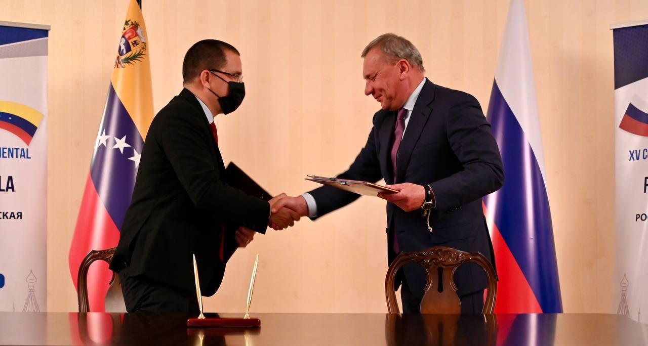 XV Comisión Intergubernamental de Alto Nivel Rusia-Venezuela concluye con la firma de nuevos acuerdos de cooperación