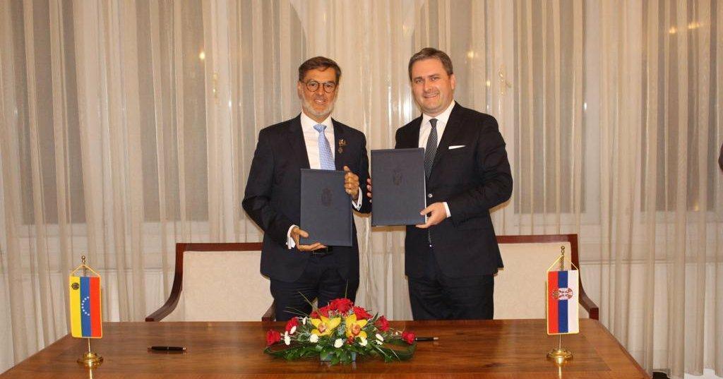 Venezuela y Serbia suscriben acuerdo de cooperación en Belgrado