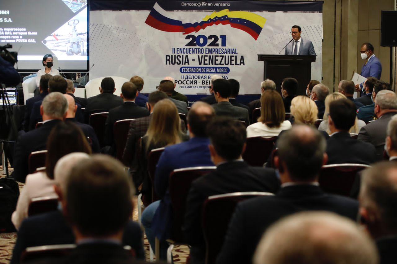 Rusia y Venezuela potencian relación comercial durante segundo Foro Empresarial entre ambas naciones
