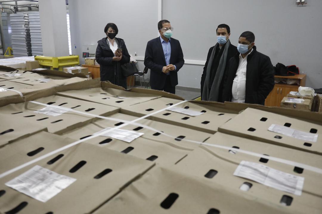 Moscú recibe cargamento de frutas venezolanas