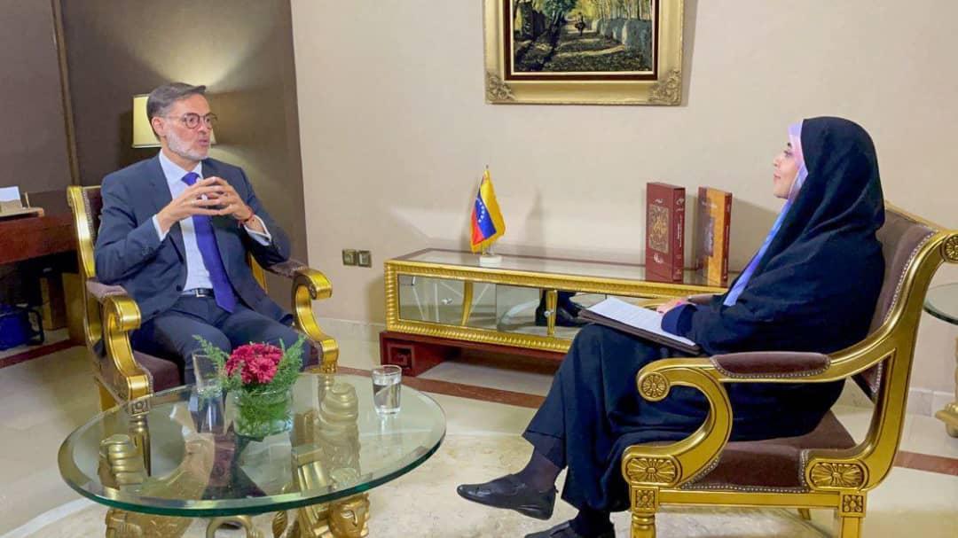 Ministro Plasencia ratifica la voluntad de Venezuela en fortalecer las relaciones bilaterales y comerciales con Irán
