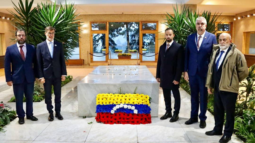Venezuela rinde honores al mariscal Josip Broz Tito en Belgrado
