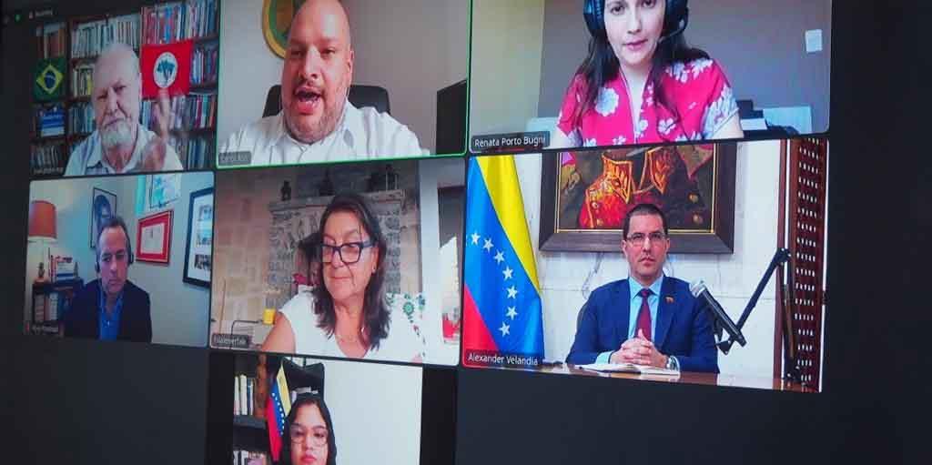Jornadas antiimperialistas inician con seminario telemático 'Déjennos respirar: Las sanciones como una violación a los DDHH'