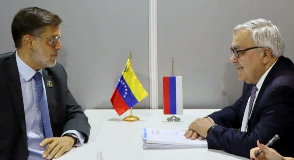 Canciller Plasencia sostiene encuentro con viceministro de Asuntos Exteriores de Rusia con miras a la CIAN