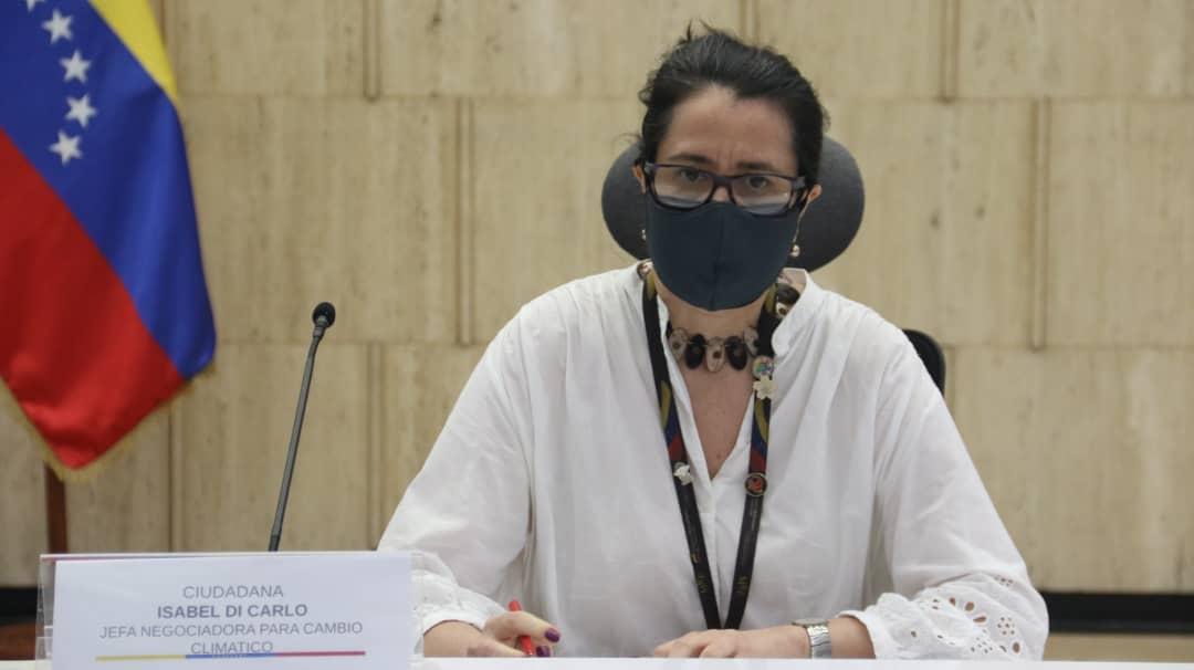 Ministra consejera Isabel Teresa Di Carlo: MCU afectan capacidad de un país para responder a la crisis del cambio climático