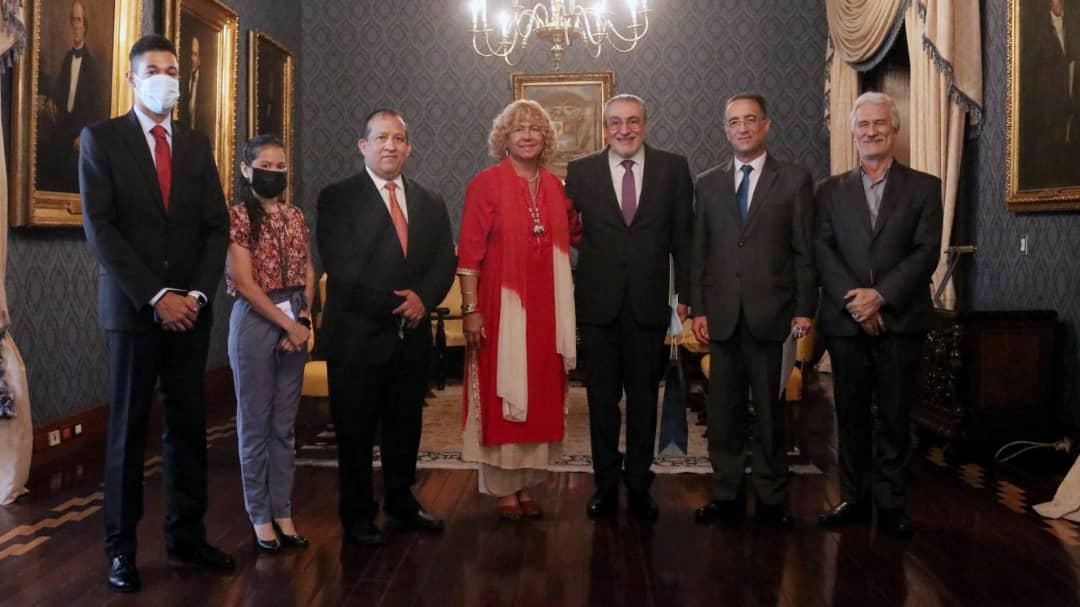 Viceministra Capaya Rodríguez sostiene cordial encuentro con Embajador de la República Árabe Siria